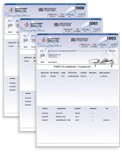 paper checks order
